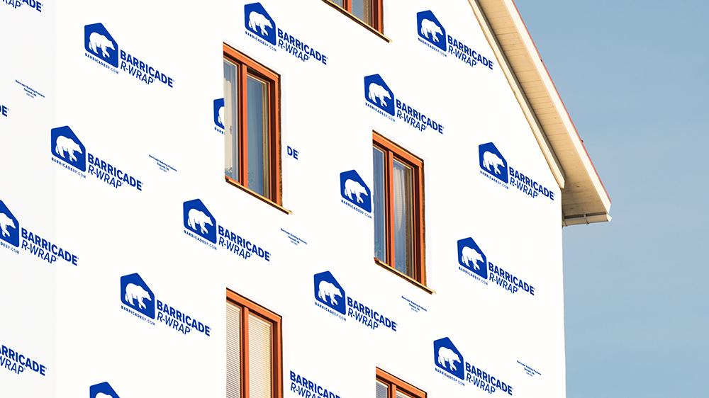 Barricade R-Wrap High-Perm House Wrap