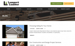 Lampert Yards Blog